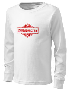 Canyon City  Kid's Long Sleeve T-Shirt