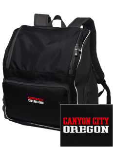 Canyon City Embroidered Holloway Duffel Bag