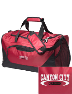 Canyon City Embroidered Holloway Chill Medium Duffel Bag