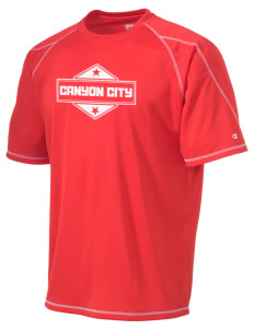 Canyon City Champion Men's 4.1 oz Double Dry Odor Resistance T-Shirt