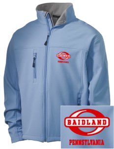Baidland Embroidered Men's Soft Shell Jacket