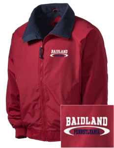 Baidland Embroidered Men's Fleece-Lined Jacket