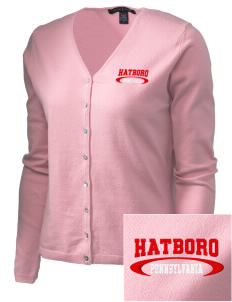 Hatboro Embroidered Women's Stretch Cardigan Sweater