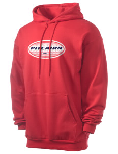 Pitcairn Men's 7.8 oz Lightweight Hooded Sweatshirt