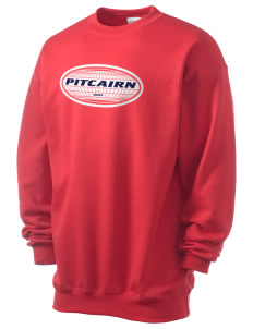 Pitcairn Men's 7.8 oz Lightweight Crewneck Sweatshirt