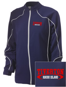 Tiverton Embroidered Russell Women's Full Zip Jacket