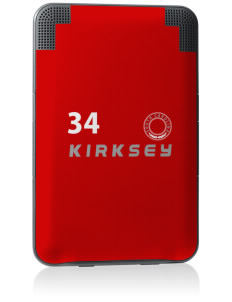 Kirksey Kindle Keyboard 3G Skin