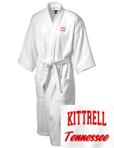 Kittrell Embroidered Terry Velour Robe