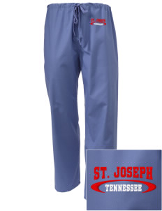 St. Joseph Embroidered Scrub Pants