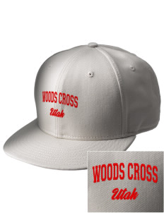 Woods Cross  Embroidered New Era Flat Bill Snapback Cap