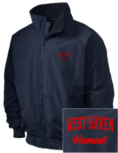 West Haven Embroidered Holloway Men's Tall Jacket