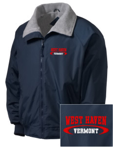 West Haven Embroidered Tall Men's Challenger Jacket