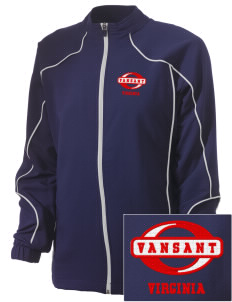 Vansant Embroidered Russell Women's Full Zip Jacket