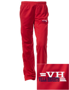 Villa Heights Embroidered Women's Tricot Track Pants