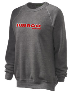 Ilwaco Unisex Alternative Eco-Fleece Raglan Sweatshirt