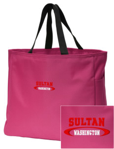 Sultan Embroidered Essential Tote