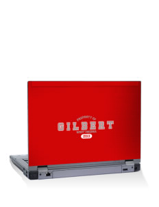 "Gilbert 14"" Laptop Skin"