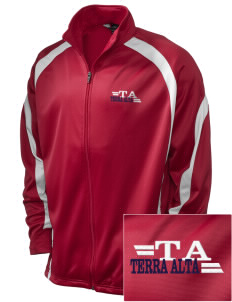 Terra Alta Embroidered Holloway Men's Tricotex Warm Up Jacket
