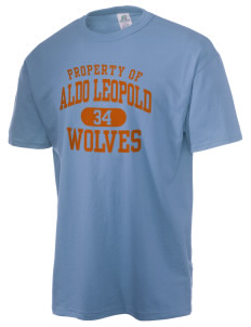 Aldo Leopold High School Wolves  Russell Men's NuBlend T-Shirt