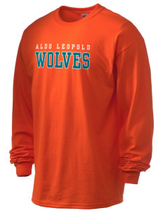 Aldo Leopold High School Wolves 6.1 oz Ultra Cotton Long-Sleeve T-Shirt