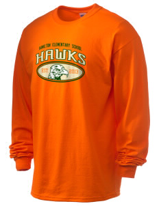 Hamilton Elementary School Hawks 6.1 oz Ultra Cotton Long-Sleeve T-Shirt