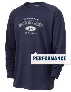 Browns Valley Elementary School Bears Men's Ultimate Performance Long Sleeve T-Shirt