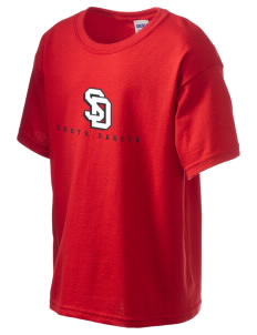 University of South Dakota Coyotes Kid's 6.1 oz Ultra Cotton T-Shirt