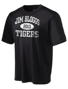 Jim Bloggs School Tigers Champion Men's Wicking T-Shirt