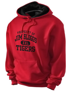 Jim Bloggs School Tigers Champion Men's Hooded Sweatshirt