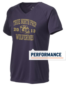 True North Prep Wolverines Holloway Women's Zoom Performance T-Shirt