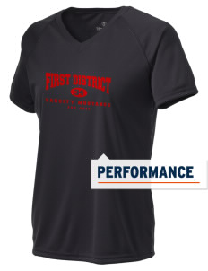 First District Elementary School Mustangs Holloway Women's Zoom Performance T-Shirt