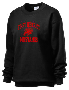 First District Elementary School Mustangs Unisex Crewneck Sweatshirt