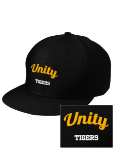 Oakland Unity High School Tigers  Embroidered New Era Flat Bill Snapback Cap