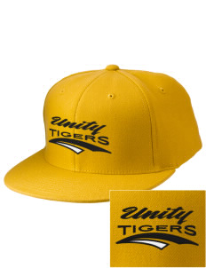 Oakland Unity High School Tigers Embroidered Diamond Series Fitted Cap