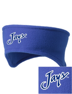 Creighton University Bluejays Embroidered Fleece Headband
