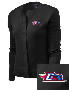 DePaul University Blue Demons Embroidered Women's Cardigan Sweater