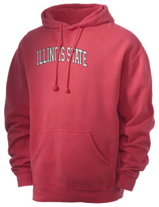 Illinois State University Redbirds Men's 80/20 Pigment Dyed Hooded Sweatshirt