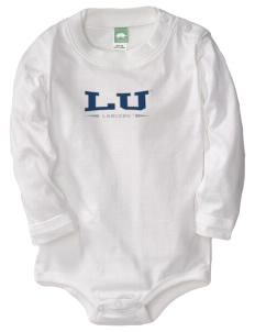 Longwood University Lancers  Baby Long Sleeve 1-Piece with Shoulder Snaps