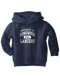 Longwood University Lancers  Toddler Fleece Hooded Sweatshirt with Pockets