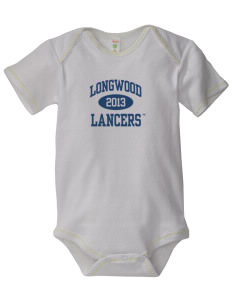 Longwood University Lancers Baby Zig-Zag Creeper