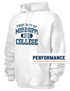 Mississippi College Choctaws Russell Men's Dri-Power Hooded Sweatshirt