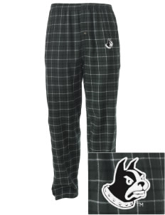 Wofford College Terriers Embroidered Men's Button-Fly Collegiate Flannel Pant