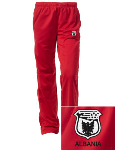 Albania Soccer Embroidered Women's Tricot Track Pants