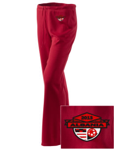 Albania Soccer Embroidered Women's Mesh Knit Pants