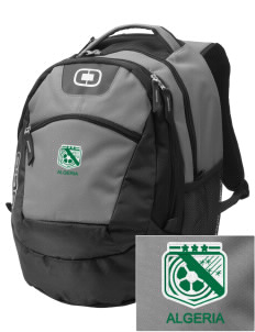 Algeria Soccer Embroidered OGIO Rogue Backpack