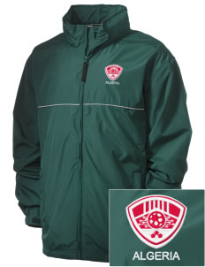 Algeria Soccer Embroidered Men's Element Jacket
