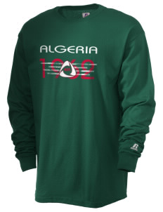 Algeria Soccer  Russell Men's Long Sleeve T-Shirt