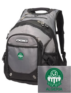 Algeria Soccer Embroidered OGIO Fugitive Backpack