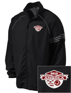 Angola Soccer Embroidered adidas Men's ClimaProof Jacket
