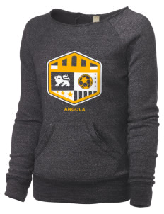 Angola Soccer Alternative Women's Maniac Sweatshirt